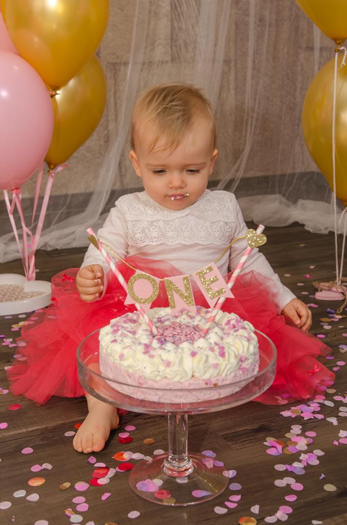 Torte mit Kind