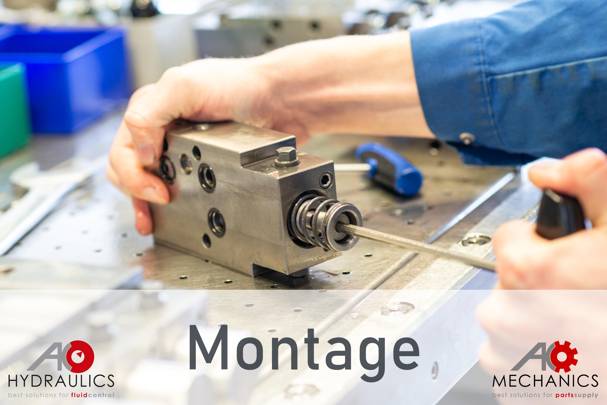 Montage – AK Regeltechnik